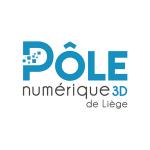 logo de Pôle numérique 3D de Liège